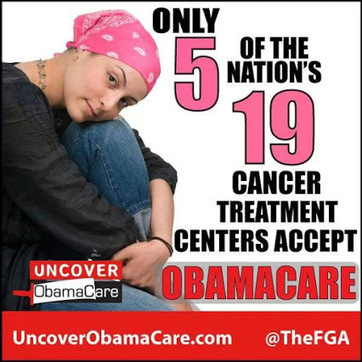 Only 5 of the nations 19 cancer treatment centers accept Obamacare!? | Littlebytesnews Current Events | Scoop.it