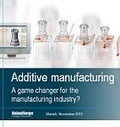 Additive manufacturing: 3D printing of metal structures has major potential for complex products and processes in various industrial sectors | Press room | Roland Berger | 3D Printing in Five Years Time | Scoop.it
