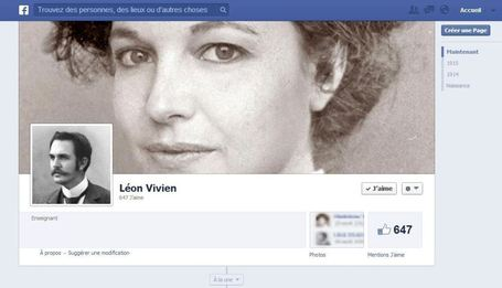 Et si Facebook avait existé en 1914? | Revolution in Education | Scoop.it