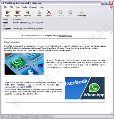 WhatsApp Desktop Version is a Banking Trojan | SecTechno | Social Networks Security | Scoop.it