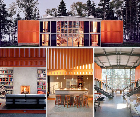 Container House - Adam Kalkins 12 Container House | Design ... | Container houses | Scoop.it