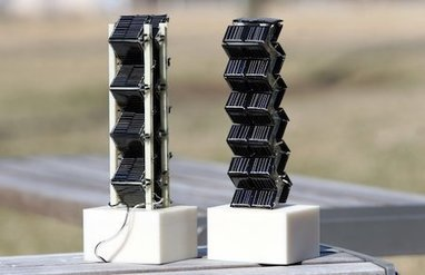 3D Solar Structures Create More Power in Small Spaces - Environment - GOOD | Sustainable Energy | Scoop.it