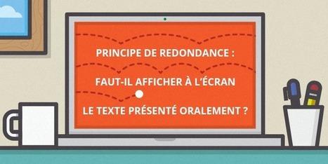 Faut-il afficher à l'écran le texte présenté oralement ? | Stretching our comfort zone | Scoop.it