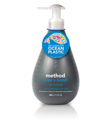 Method's Recycled Packaging Made from Ocean Plastic | greenUPGRADER | The Science of Cosmetics | Scoop.it
