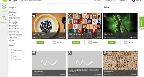 Comment mémoriser tous vos cours avec Cerego | Mes outils du web | Scoop.it