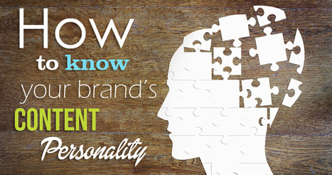 How to Know Your Brand's Content Personality | SEJ | presentarsi come si deve | Scoop.it