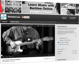 The Berklee College of Music YouTube Marketing Story - ReelSEO Online Video News | Webvideo Marketing | Scoop.it