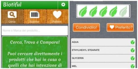 Biotiful: una app per sapere cosa ti spalmi - Parafarmacia SamiFar di Borgo Cerreto   Benessere a 360 gradi   Scoop.it
