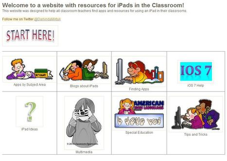 Newly Updated - iPad Resources by @DarlyndaMiktuk | iPads in Education | Scoop.it