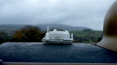Laser Scanning and 3D Printing Steam Engines for the Love of Model Trains | Made Different | Scoop.it