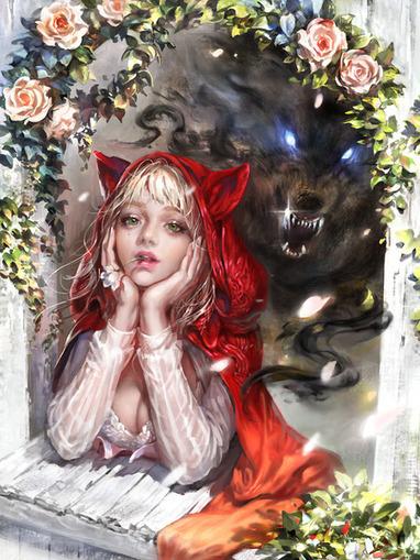 Red-hooded Girl by keira - CGHUB | Animación, videojuegos, tutoriales | Scoop.it