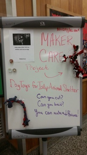 """Struck by Tragedy, a NY High School Heals Through """"Compassionate Making"""" 