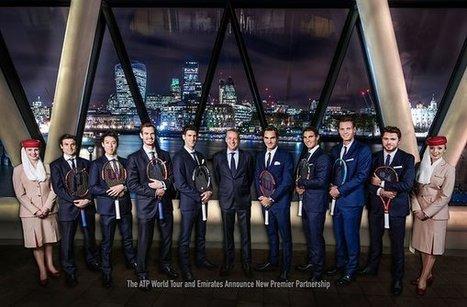 L'ATP signe le contrat sponsoring le plus lucratif de son histoire avec Emirates | Sponsoring et Mécénat supports d'événements | Scoop.it