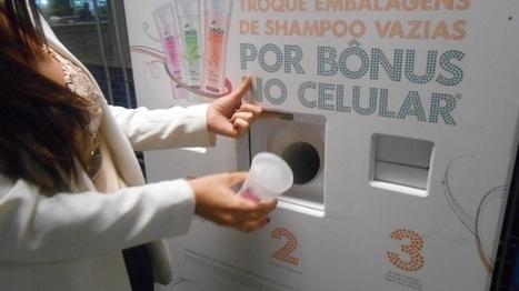 Recyclez vos bouteilles de shampoing vide et repartez avec du crédit téléphonique ! | streetmarketing | Scoop.it