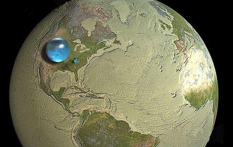 Έτσι θα έμοιαζε ο πλανήτης αν συγκεντρώναμε όλο το νερό σε ένα σημείο | omnia mea mecum fero | Scoop.it