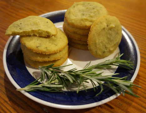 Stilton Shortbread with Rosemary - BrightSpring | BrightSpring and Delicious Food | Scoop.it