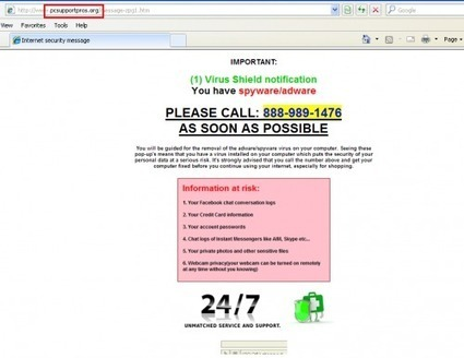 How to Remove Fake Virus Alert? PcSupportPros.org Popup Manual Removal Guide - Tee Support Blog | remove | Scoop.it