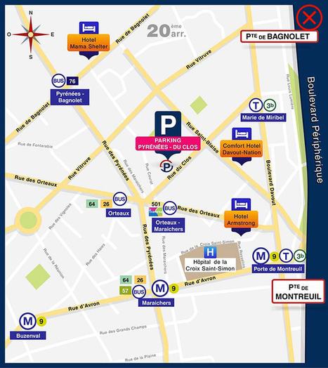 Réservation de votre stationnement près des Champs Elysées | Communication et référencement | Scoop.it