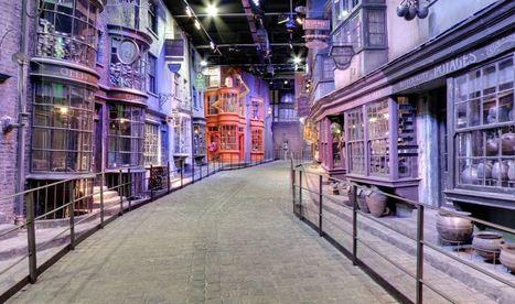 Quand Google Street View intègre le Chemin de Traverse d'Harry Potter | Resolunet | Scoop.it