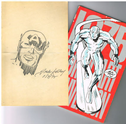 Captain America Sketch by Jack Kirby? - The Hayfamzone Blog ... | STEFANO DONNO GLOBAL NEWS 2 | Scoop.it
