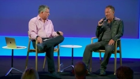 Eddy Cue s'est entretenu avec Bruce Springsteen à l'Apple Store de SoHo - iPhonote | Bruce Springsteen | Scoop.it