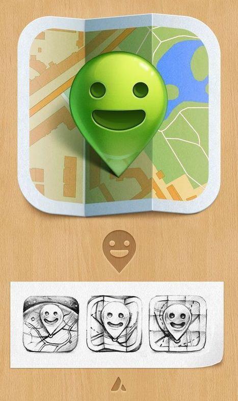 50 designs de qualité à voir autour des icônes d'applications | Qualité Accueil Tourisme | Scoop.it