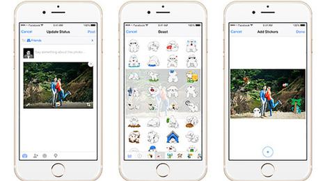 Facebook, con l'app puoi aggiungere adesivi sulle foto - Wired.it | Scoop Social Network | Scoop.it