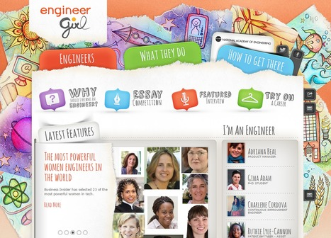 EngineerGirl | Education Matters - (tech and non-tech) | Scoop.it