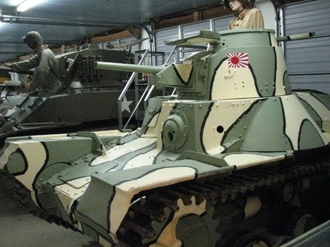 Tank Type 95 Ha-Go – WalkAround | History Around the Net | Scoop.it