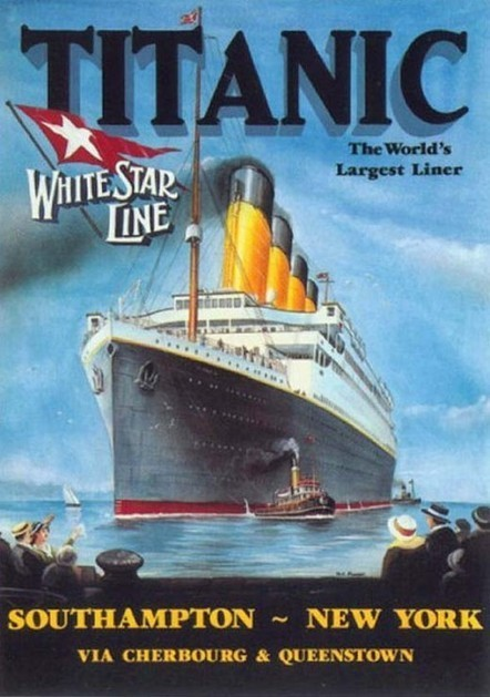 Ads for the Titanic-1912   21st Century Literacy and Learning   Scoop.it