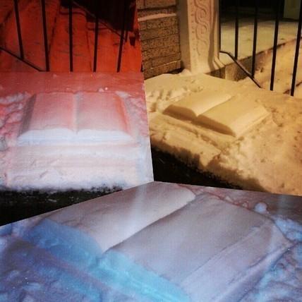 Des livres blancs comme neige s'exposent à Boston | BiblioLivre | Scoop.it