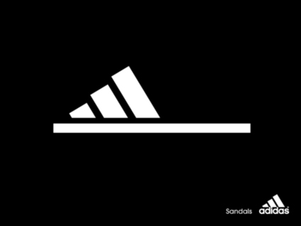 Adidas Sandals poster   Compelling Selling   Scoop.it