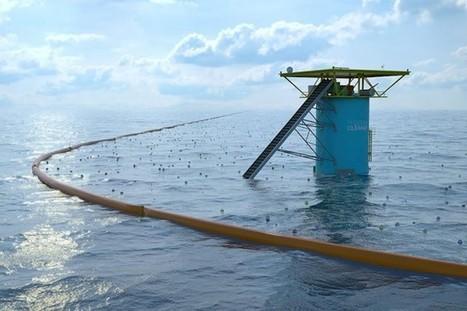 Ingenious Ocean Cleaning System | Innovation dans l'Immobilier, le BTP, la Ville, le Cadre de vie, l'Environnement... | Scoop.it