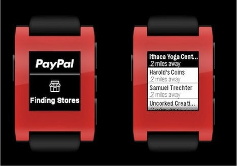 PayPal beats Apple to the punch, launches Pebble smartwatch app payments | Social-Local-Mobile by TraX | Scoop.it