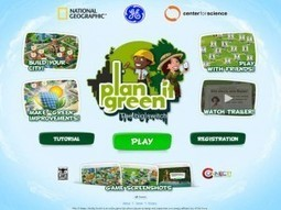 A Learning Simulation For Science & Social Studies: Plan It Green - | K-12 Web Resources - History & Social Studies | Scoop.it