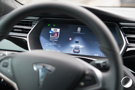 L'Autopilot de Tesla aurait divisé par deux le nombre d'accidents - FrAndroid | 694028 | Scoop.it