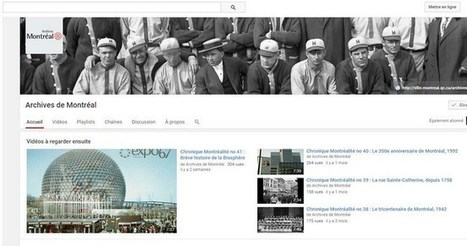 Vidéos sur l'histoire et le patrimoine du Québec sur Youtube | Merveilles - Marvels | Scoop.it