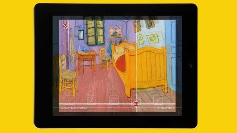 App for tablets: Touch Van Gogh - What paintings can reveal | Future of Museums | Scoop.it