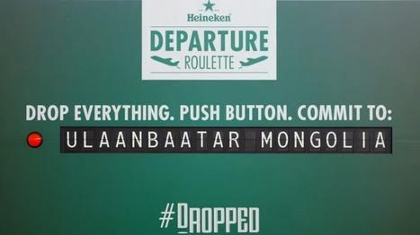 Heineken's 'Departure Roulette': Best. Marketing. Ever. - HubSpot | Guerrilla Marketing | Scoop.it
