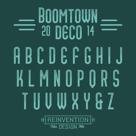 Free Fonts for Posters and Social Media Images | Design, social media and web resources | Scoop.it
