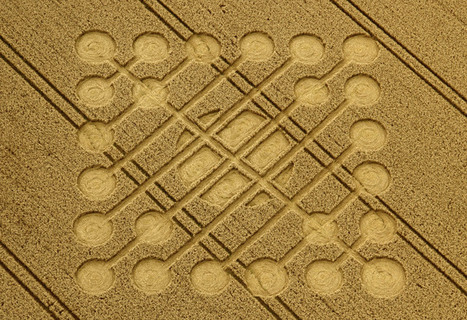 Crop Circle at Oxleaze Copse, nr Stitchcombe, Wiltshire. Reported 23rd August 2012. | 11th Dimension Publishing | Scoop.it