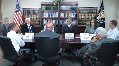 Man unwittingly attends Obama roundtable | AUSTERITY & OPPRESSION SUPPORTERS  VS THE PROGRESSION Of The REST OF US | Scoop.it
