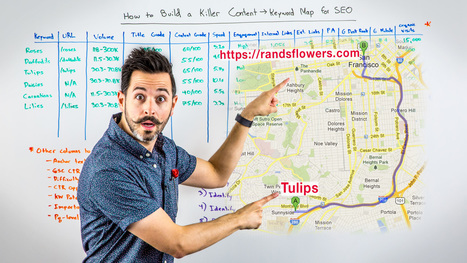 How to Build a Killer Content → Keyword Map for SEO - Whiteboard Friday | Social Media, SEO, Mobile, Digital Marketing | Scoop.it