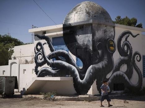 PHOTOS. Un village tunisien métamorphosé par le street-art | Le Lol et le Whaou des Internets | Scoop.it