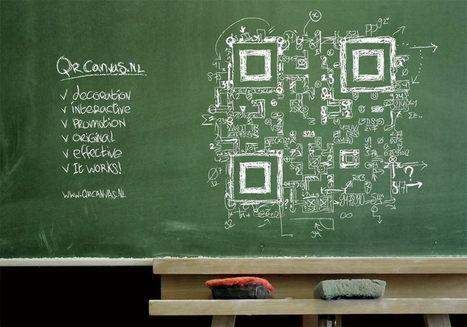 QR code blackboard design Everyting = math | artcode | Scoop.it