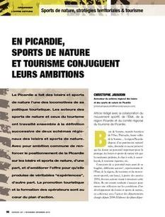 REVUE-ESPACES | En Picardie, sports de nature et tourisme conjuguent leurs ambitions | Tourisme de randonnées                                                                                                                                                                                 & Sports de nature pour les pros | Scoop.it