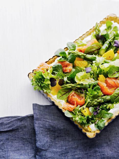 Salaattipiirakka lohesta, parsasta ja appelsiinista | Ruokaa | Scoop.it