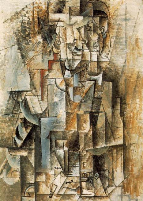 Man with a violin - Picasso | Violins | Scoop.it