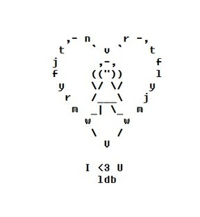 ASCII Valentine 2016 – ASCII Artist | ASCII Art | Scoop.it