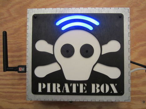 Raspberry Pi PirateBox | Raspberry Pi | Scoop.it